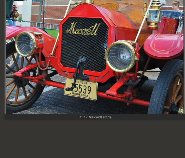 1912 Maxwell red